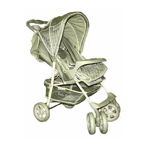 цена на Прогулочная коляска Baby Care Voyager olive checkers