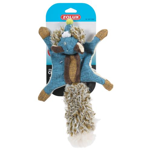 Игрушка для собак ZOLUX Белка-летяга синий игрушка для животных migliores для собак синий