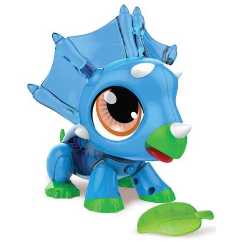Купить Интерактивная игрушка робот 1 TOY Робо Лайф Динозаврик синий, Роботы и трансформеры