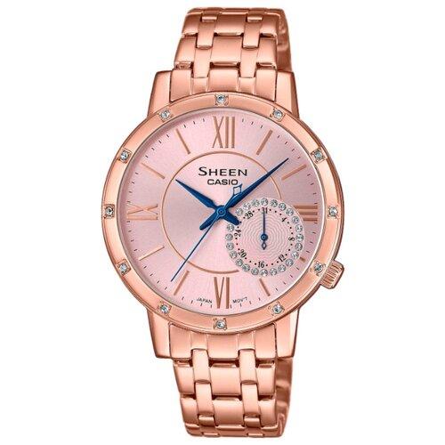 цена Наручные часы CASIO SHE-3046PG-4A онлайн в 2017 году