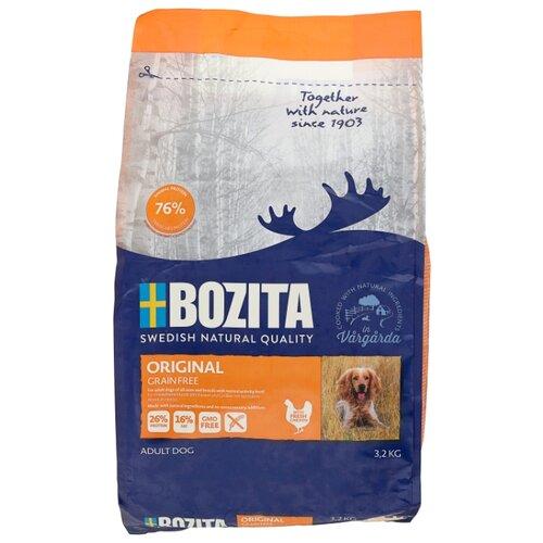 Сухой корм для собак Bozita курица с картофелем 3.2 кг сухой корм для собак bozita баранина с картофелем 3 5 кг