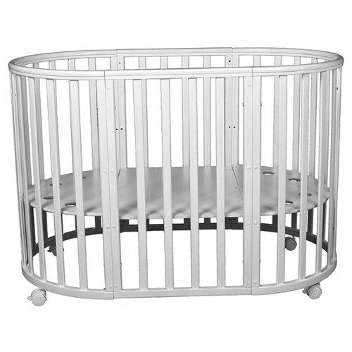 Кроватка Incanto Mimi 7 в 1 (трансформер) серый элит кроватка jakomo teo 7 в 1 трансформер белый