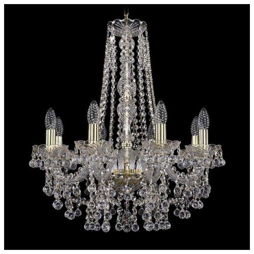 Фото - Люстра Bohemia Ivele Crystal 1409 1409/8/195/h-63/G, E14, 320 Вт 80700