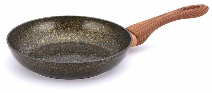 Сковорода Bekker BK-7942 28 см с крышкой — купить по выгодной цене на Яндекс.Маркете
