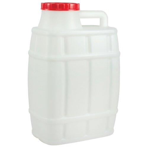 канистра для жидкостей альтернатива бочонок 10 л Канистра Альтернатива Бочонок М974, 25 л, белый