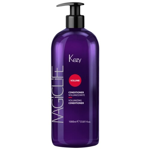 KEZY кондиционер Magic Life Volume для придания объема волосам, 1000 мл show beauty кондиционер lux volume для придания объема волосам 200 мл