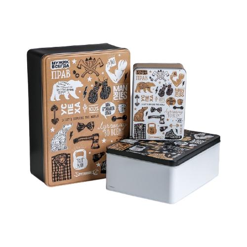 Фото - Набор подарочных коробок Дарите счастье Успеха 3 шт. коричневый/черный/белый набор подарочных коробок дарите счастье универсальный 10 шт бежевый белый черный