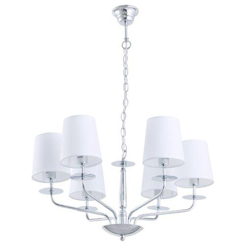 Люстра Arte Lamp A1048LM-6CC, E14, 240 Вт