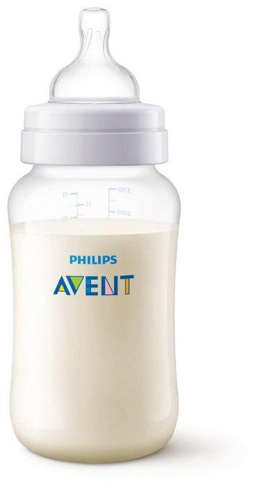 Philips AVENT Бутылочка полипропиленовая Anti-colic SCF816/17, 330 мл с 3 мес.