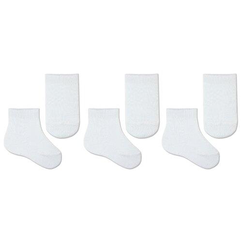 Купить Носки НАШЕ комплект 3 пары размер 18 (16-18), белый