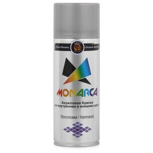 Краска Eastbrand Monarca молотковая серебряный 520 мл