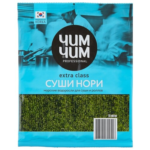 ЧИМ-ЧИМ Морские водоросли Нори, 24 г