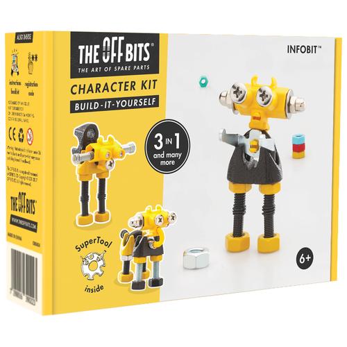 Купить Винтовой конструктор The Offbits Character Kit OB0203 InfoBit, Конструкторы