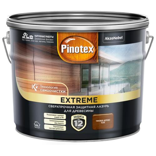 Водозащитная пропитка Pinotex Extreme тиковое дерево 9 л