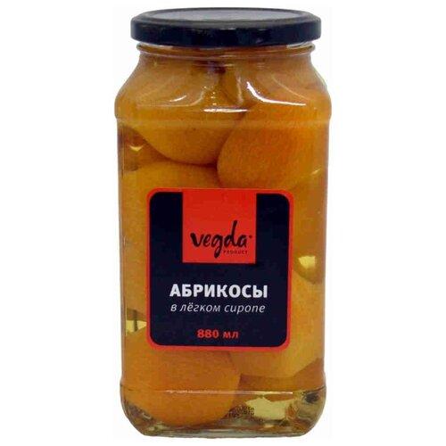 цена на Абрикосы Vegda в сиропе, стекло 880 мл