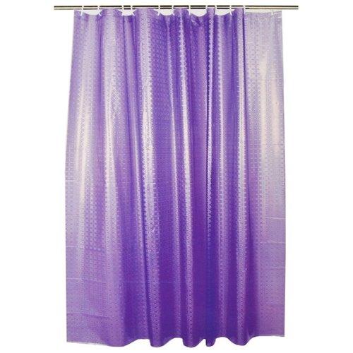 Штора для ванной Vetta 461-472 / 461-473 180х180 фиолетовый