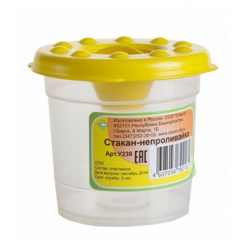 Купить Ведро Стром детское большое желтый/белый, СТРОМ, Наборы в песочницу