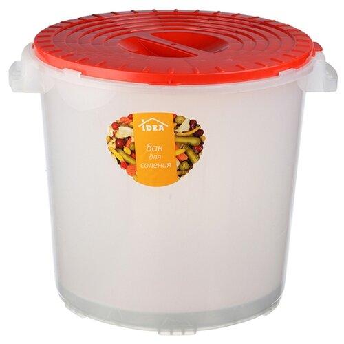 Бак IDEA (М-Пластика) для соления, полипропилен, 25 л