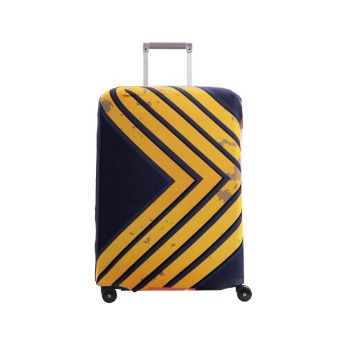 Чехол для чемодана ROUTEMARK Azimuth SP240 M/L, черный чехол для чемодана routemark inmotion размер m l 65 74 см