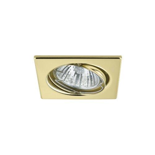 Светильник -комплект Trend EBL Quadro schw 3x50W GU10, золото