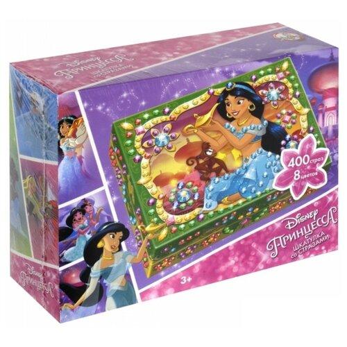 Купить Десятое королевство Набор для творчества Шкатулка со стразами Принцесса Жасмин (01990), Поделки и аппликации