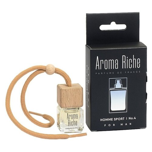 Aroma Riche Ароматизатор для автомобиля Homme Sport №4 5 мл