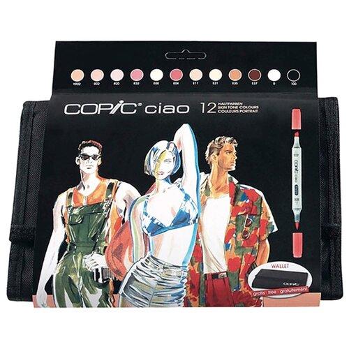 Купить COPIC набор маркеров Ciao Skin Tone (H22075735), 12 шт., Фломастеры и маркеры