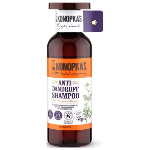Dr. Konopka's шампунь против перхоти 500 мл dr select шампунь placenta shampoo ех плацентарный 500 мл