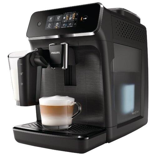Кофемашина Philips EP2030 Series 2200 LatteGo матовый черный кофемашина автоматическая philips ep 5030 10 series 5000 lattego
