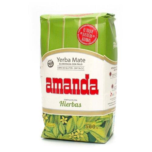 Чай травяной Amanda Yerba mate Hierbas , 500 г amanda flower criminally cocoa