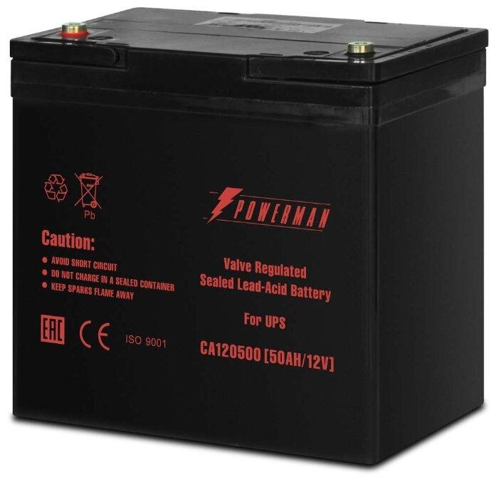 Аккумуляторная батарея Powerman CA12500 50 А·ч