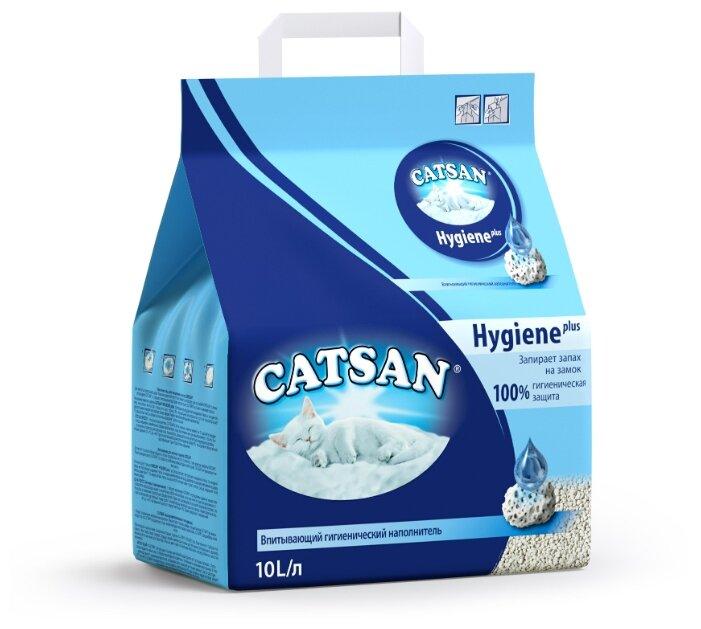 Впитывающий наполнитель Catsan Hygiene Plus 10 л