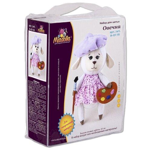 Купить Miadolla Набор для создания игрушки Овечка (H-0116), Изготовление кукол и игрушек