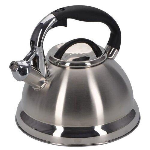 Фото - REGENT inox Чайник со свистком 93-TEA-28 2.6 л, серебристый чайник 2 6 л со свистком regent tea 93 tea 28