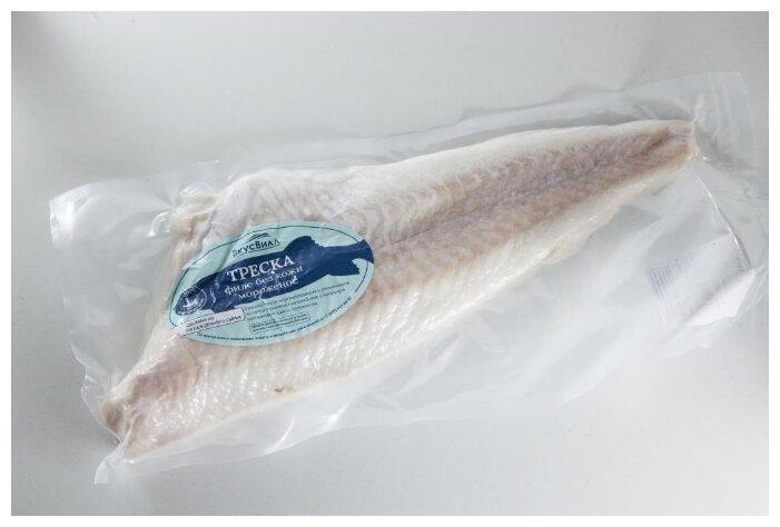 ВкусВилл Замороженная треска филе без кожи 600 г