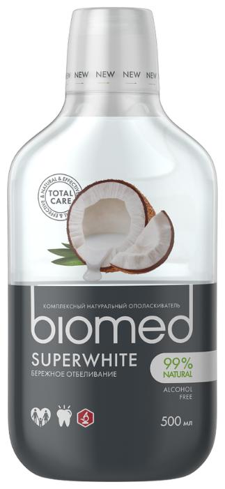 Biomed ополаскиватель для полости рта Superwhite Кокос