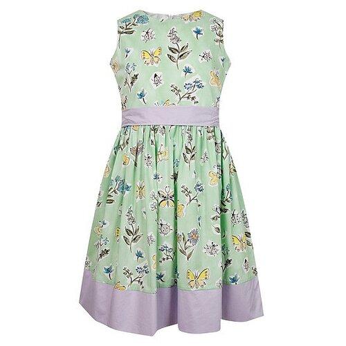 Платье Il Gufo размер 92, зеленый