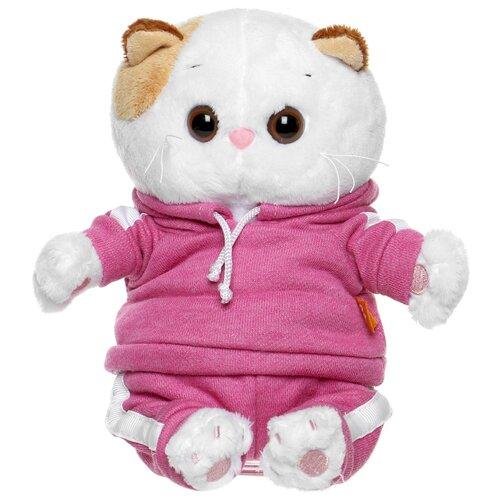 Купить Мягкая игрушка Basik&Co Кошка Ли-Ли baby в спортивном костюме 20 см, Мягкие игрушки