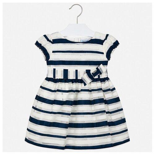Купить Платье Mayoral размер 110, полоска/синий, Платья и сарафаны