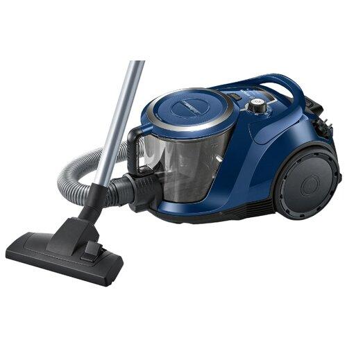 Фото - Пылесос Bosch BGS 412000, черный/синий пылесос bosch bwd41700 черный синий