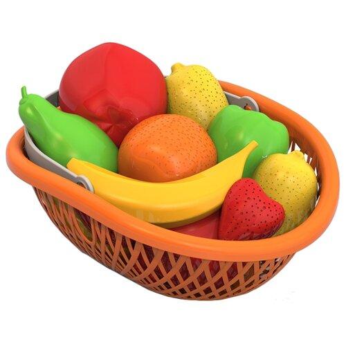 Купить Набор продуктов Нордпласт Фрукты 438, Игрушечная еда и посуда