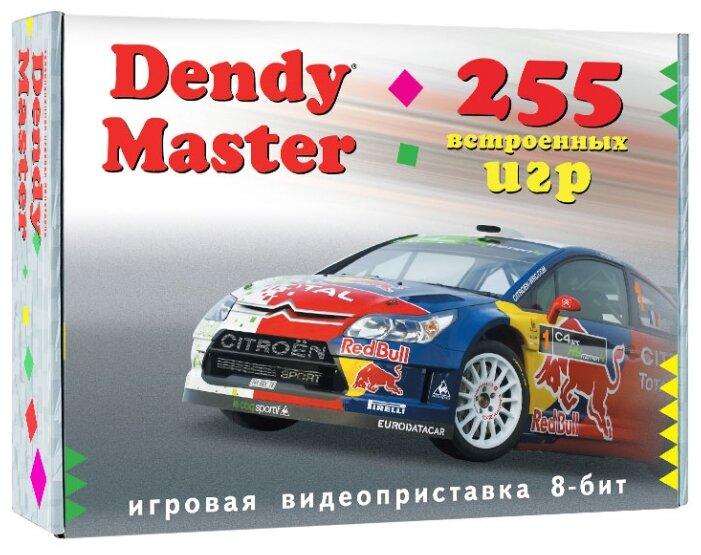 Игровая приставка Dendy Master 255 встроенных игр