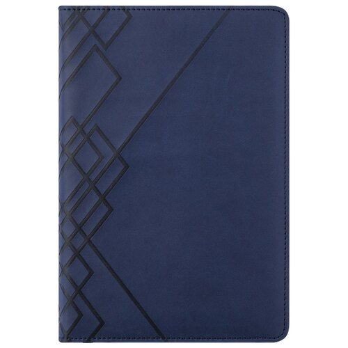 Ежедневник Index Line недатированный, искусственная кожа, А5, 176 листов, синий