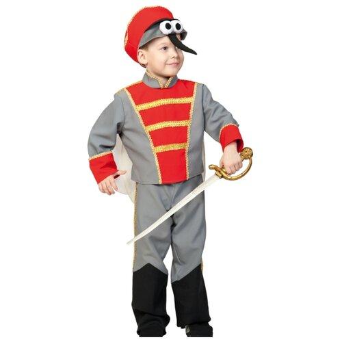 Купить Костюм КарнавалOFF Комарик со шпагой (5197), серый/красный, размер 92-110, Карнавальные костюмы