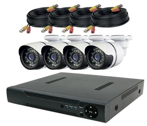 Комплект видеонаблюдения PS Link KIT C204HD