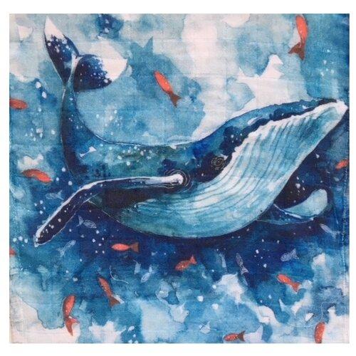 Купить Многоразовые пеленки MamSi хлопковый муслин 120х120 кит, Пеленки, клеенки