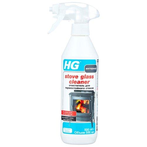 Фото - Спрей HG Stove Glass Cleaner для стекол печей и каминов, 500 мл жидкость hg для гигиеничной очистки холодильника 500 мл