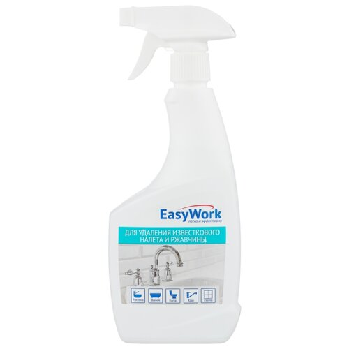 Фото - EasyWork спрей для удаления известкового налета и ржавчины, 0.5 л unicum спрей для удаления известкового налета и ржавчины 0 5 л