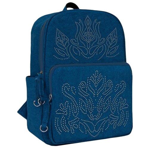 Купить Феникс+ Рюкзак 46673, голубой, Рюкзаки, ранцы