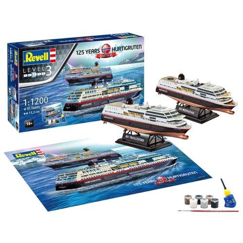 Купить Сборная модель Revell Hurtigruten 125th Anniversary (05692) 1:1200, Сборные модели